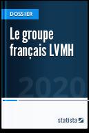 Le groupe français LVMH