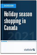 Holiday season shopping in Canada
