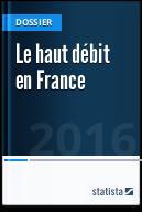 Le haut débit en France