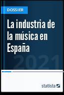 La industria de la música en España