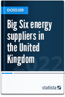 Big Six energy suppliers in the United Kingdom (UK)