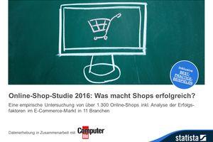 Online-Shop-Studie 2016: Was macht Shops erfolgreich?