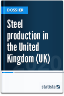Steel production in the United Kingdom (UK)