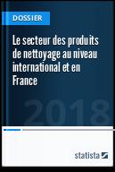 Le secteur des produits de nettoyage au niveau international et en France
