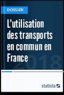 L'utilisation des transports en commun en France