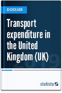 Transport expenditure in the United Kingdom (UK)