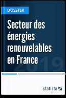 Secteur des énergies renouvelables en France