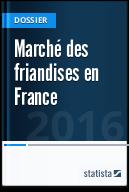Marché des friandises en France