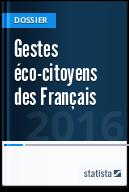 Gestes éco-citoyens des Français