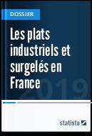 Les plats industriels et surgelés en France