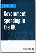 Government spending in the public sector in the UK