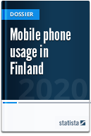Mobile phone usage in Finland