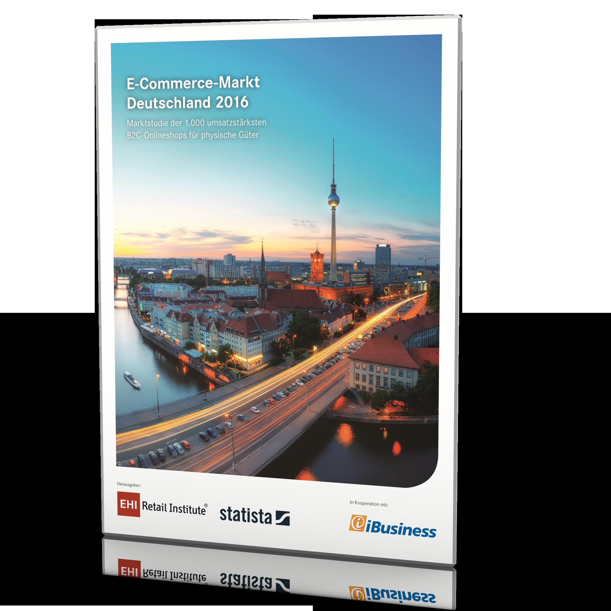E-Commerce Markt Deutschland 2016