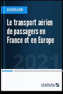 Le transport aérien de passagers en France et en Europe