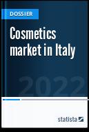 Cosmetics market in Italy