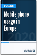 Mobile phone usage in Europe