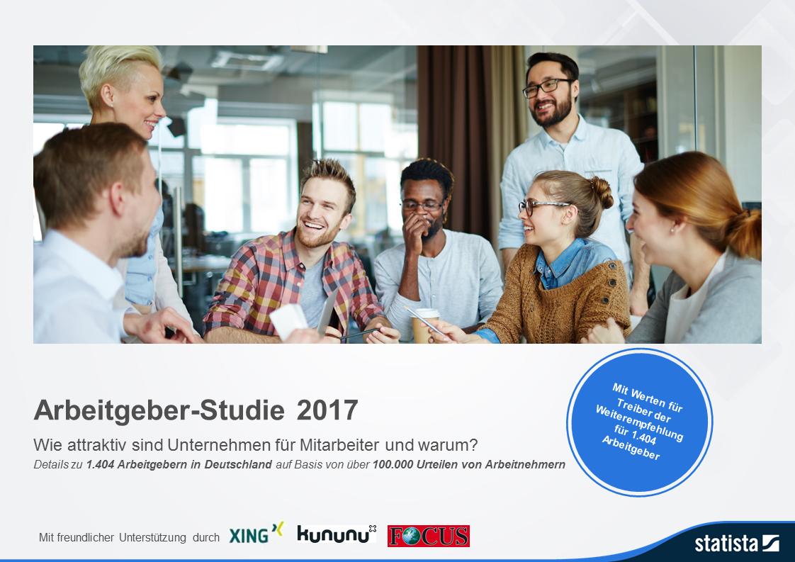 Arbeitgeber-Studie 2017