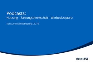 Podcasts: Nutzung, Zahlungsbereitschaft & Werbeakzeptanz