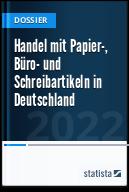 Handel mit Papier-, Büro- und Schreibartikeln in Deutschland