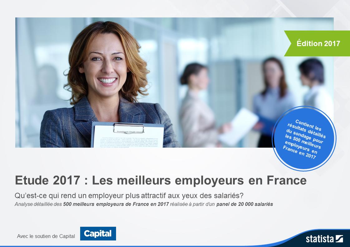 Etude: Les meilleurs employeurs en France en 2017