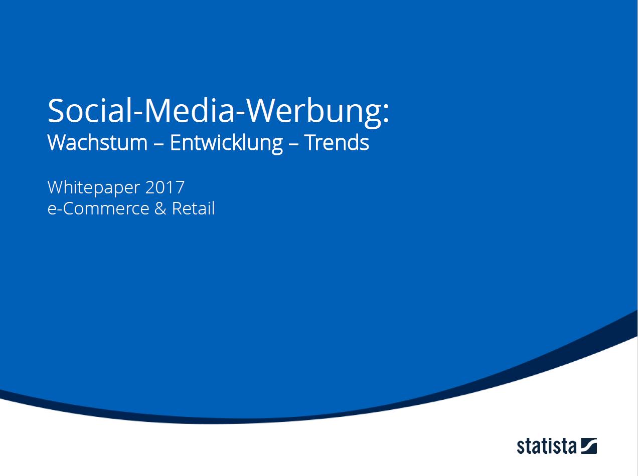 Social-Media-Werbung: Wachstum, Entwicklung & Trends