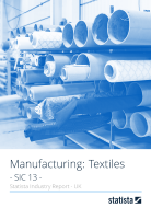 Manufacturing: Fashion & Textiles in the UK 2018