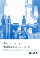 Manufacturing: Pharmaceuticals in the UK 2019