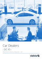 Car Dealers in the UK 2018