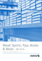 Retail: Sports, Toys, Books & Music in the UK 2018