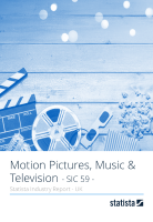 Motion Pictures, Music & Television in the UK 2019