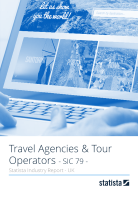 Travel Agencies & Tour Operators in the UK 2018