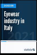 Eyewear industry in Italy