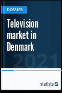 Television market in Denmark