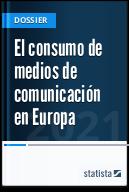 El consumo de medios de comunicación en Europa