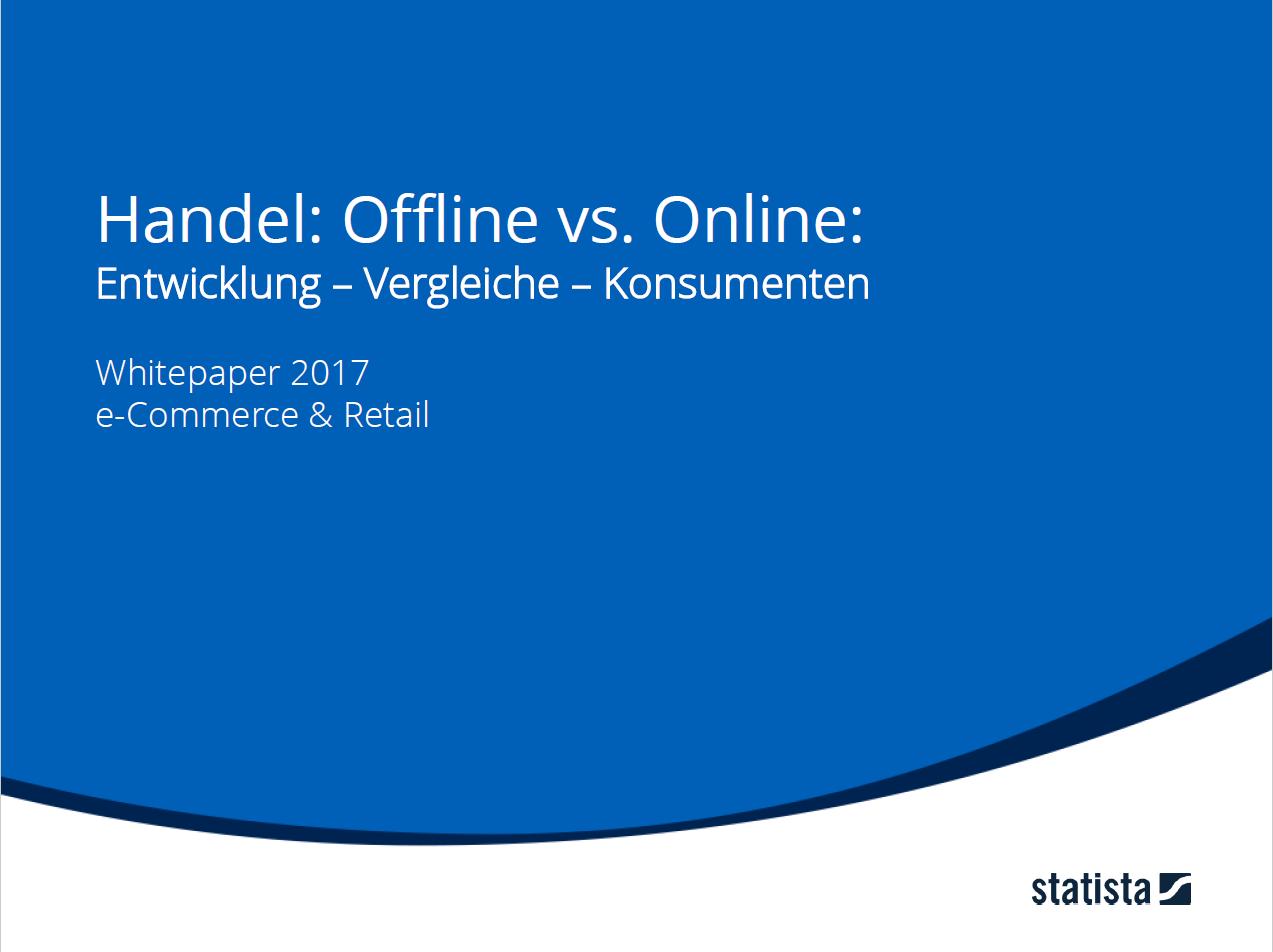 Handel: Offline vs. Online: Entwicklung - Vergleiche - Konsumenten