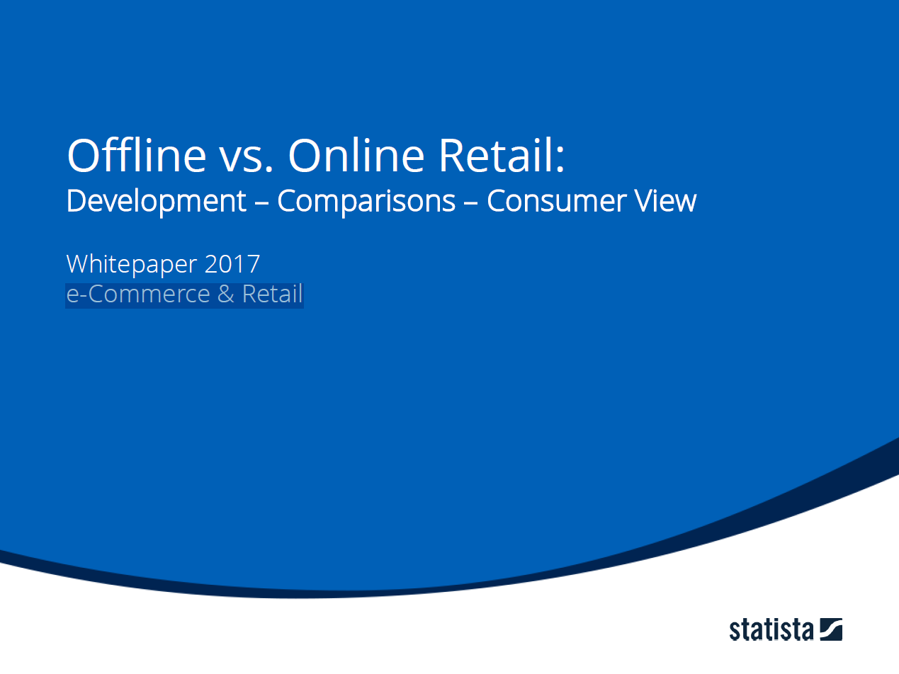 Offline vs. Online Retail: Development - Comparison - Consumer View