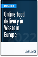 Online food delivery services in Europe