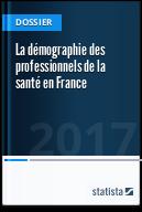 La démographie des professionnels de la santé en France