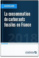 La consommation de carburants fossiles en France