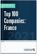 Top 100 Companies from All Industries, excluding banks (France)
