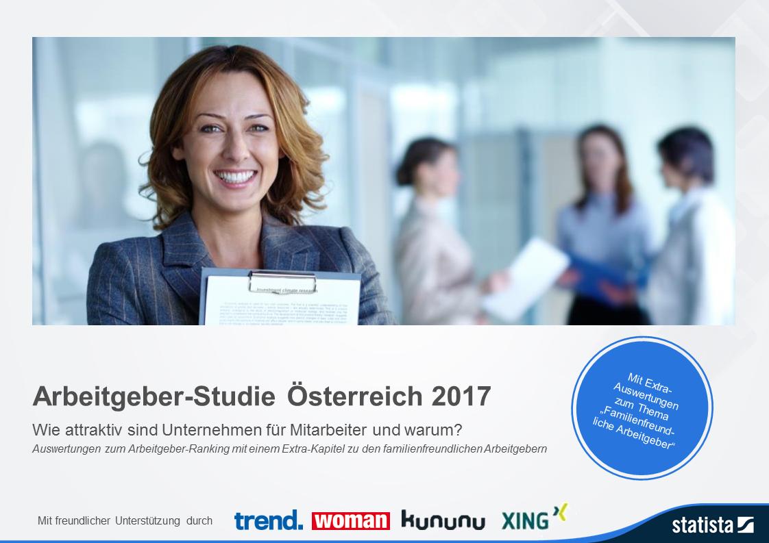Arbeitgeber-Studie Österreich 2017
