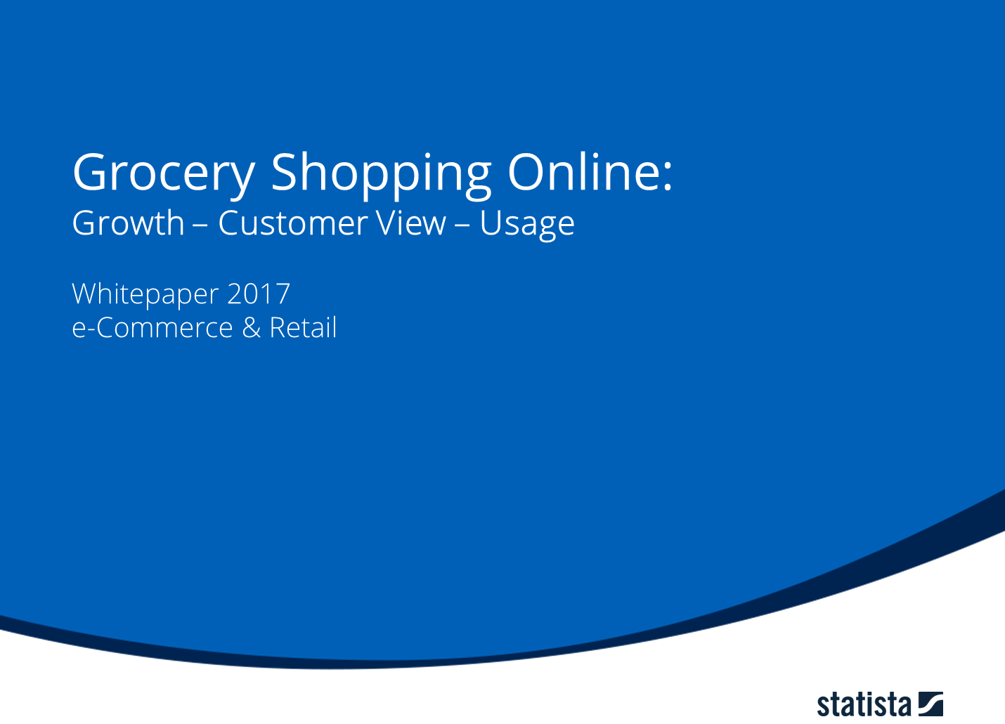 Grocery Shopping Online: Growth - Customer View - Usage