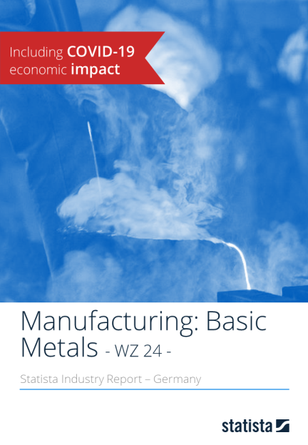 Manufacturing: Basic Metals in Germany 2019