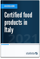 Certified food products in Italy
