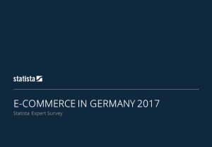 Industry Insights e-Commerce in Germany 2017