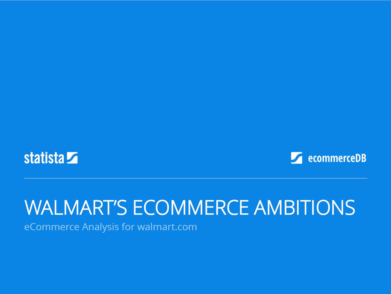Walmart's eCommerce Ambitions
