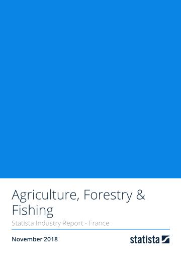 Agriculture, Forestry & Fishing in France 2018