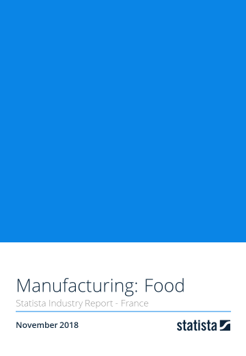 Manufacturing: Food in France 2018