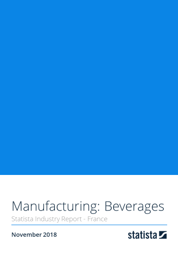 Manufacturing: Beverages in France 2018