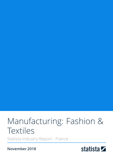 Manufacturing: Fashion & Textiles in France 2018